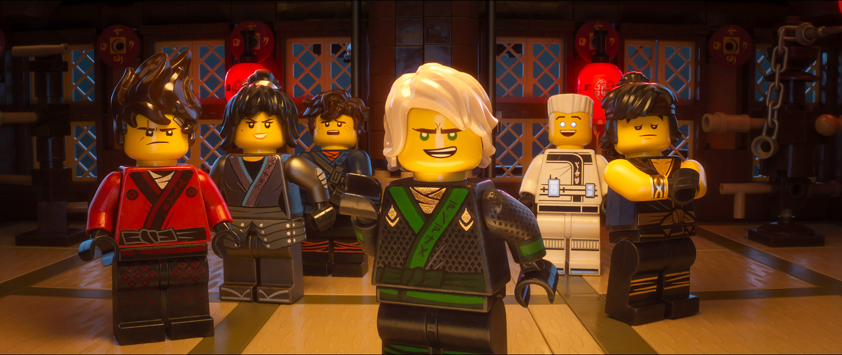 LEGO Ninjago Movie Review at iPic sponsored by Kango
