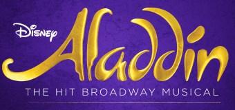 "Disney's ""Aladdin"" at The Hollywood Pantages Jan 10 – Mar 31"