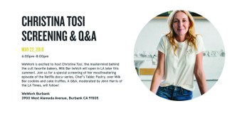 What I learned from the Christina Tosi Event at WeWork Burbank