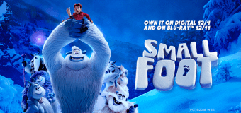 """""""Smallfoot"""" DVD/BluRay Giveaway"""