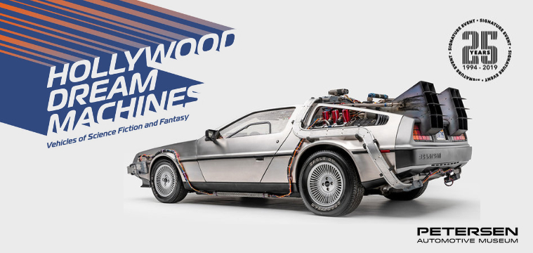 """Hollywood Dream Machines: Vehicles of Science Fiction and Fantasy"" at The Petersen Museum Opens to the public May 5th"