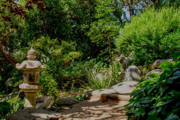 Storrier Sterns Japanese Garden in Pasadena, California.