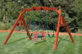 Wooden Swing Sets Delivered Free to Midland Texas