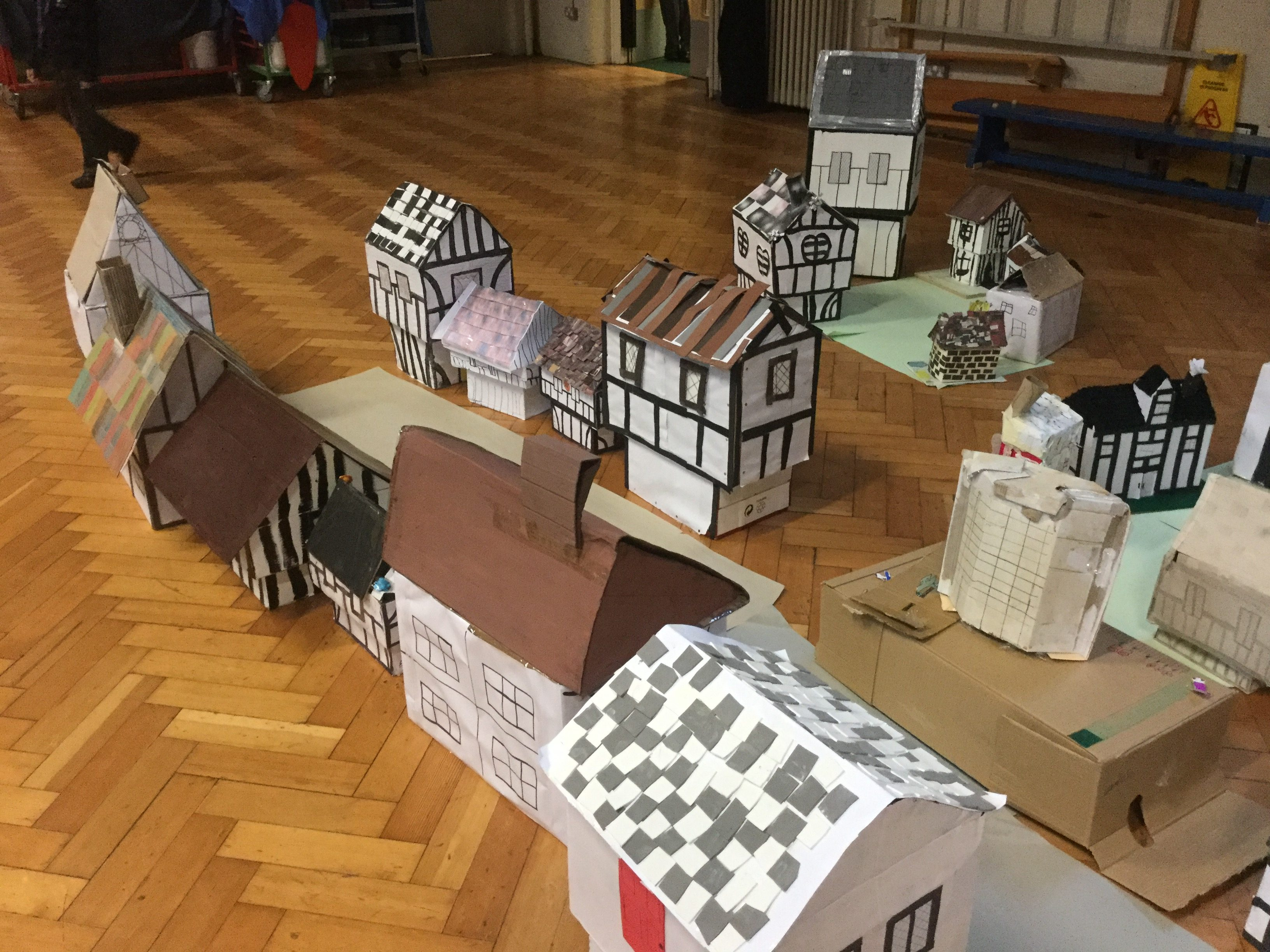 Tudor Houses West Town Primary