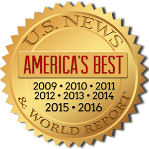 image of U.S. News and World Report badge