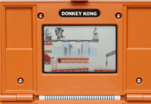 donkey kong screen shot
