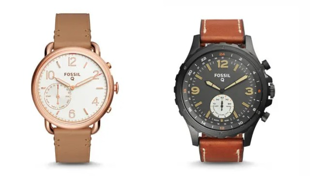 Smart Analog Movement watches: Q Tailor and Q Nate