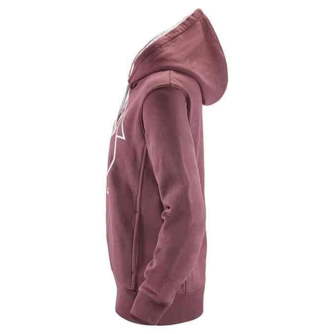 womans scania vabis hoodie side pink