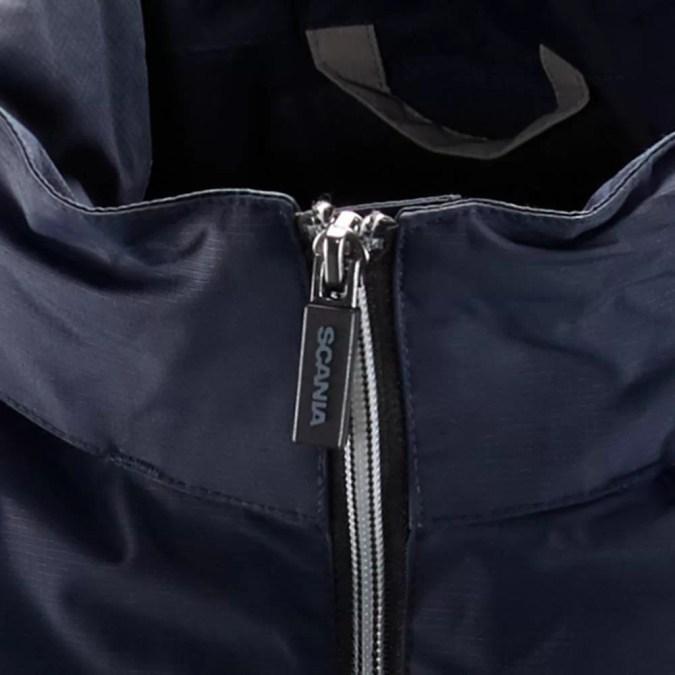 Scania Mens Navy storm jacket zip