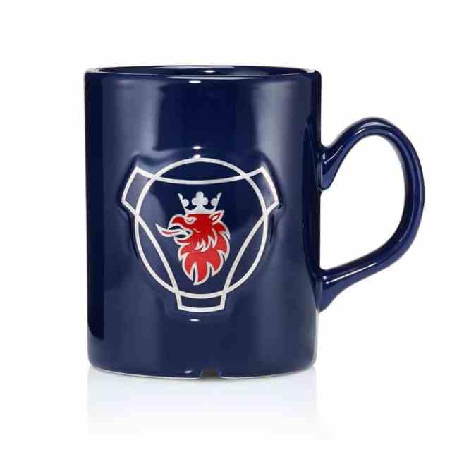 Navy Scania Mug