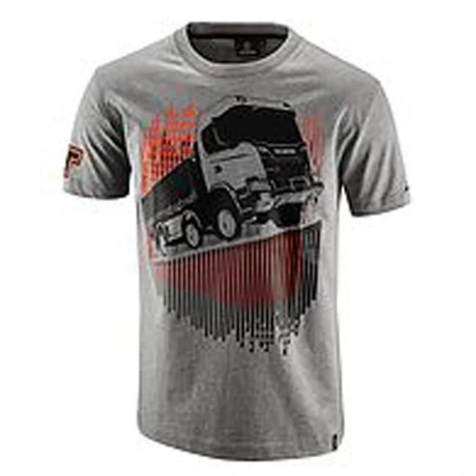 Scania Grey XT Truck tshirt