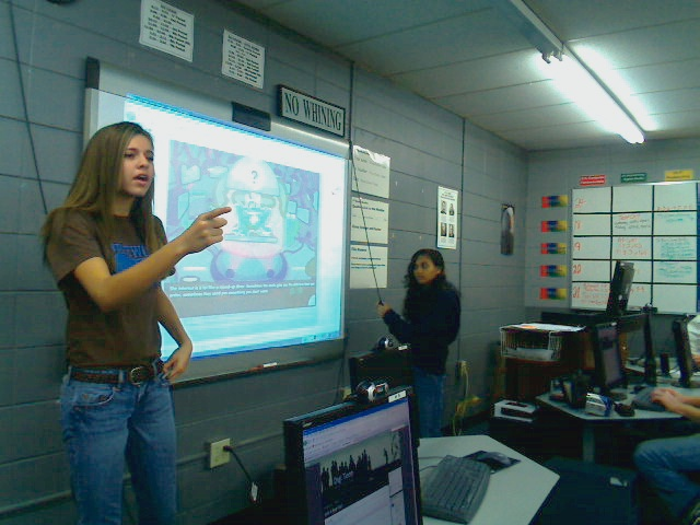 Virginia Vereen wins Digital Youth Contest: Edutopia to be Filming at the School This Week