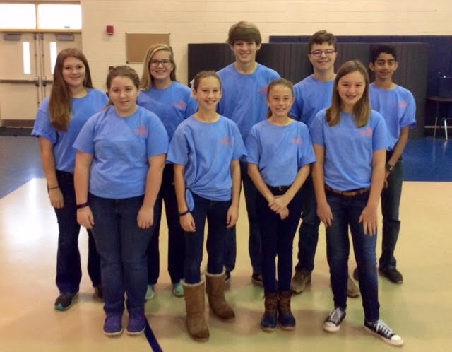 Westwood Schools wins PAGE Middle School Academic Bowl