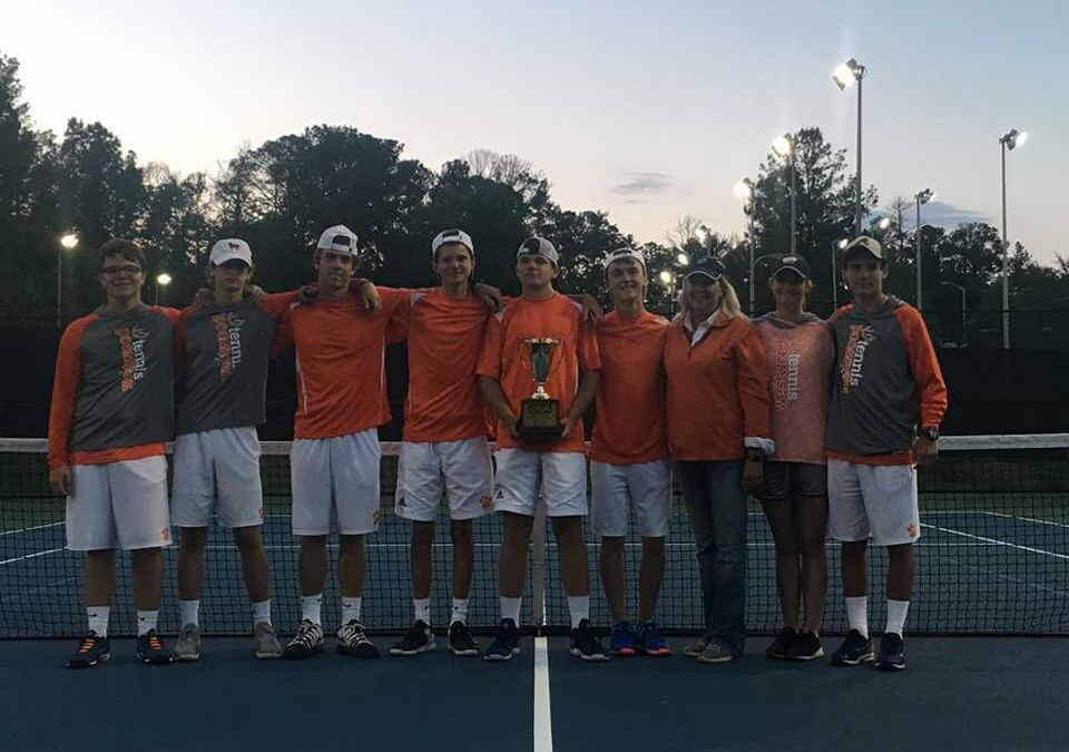Boys Tennis Team Defends State Title
