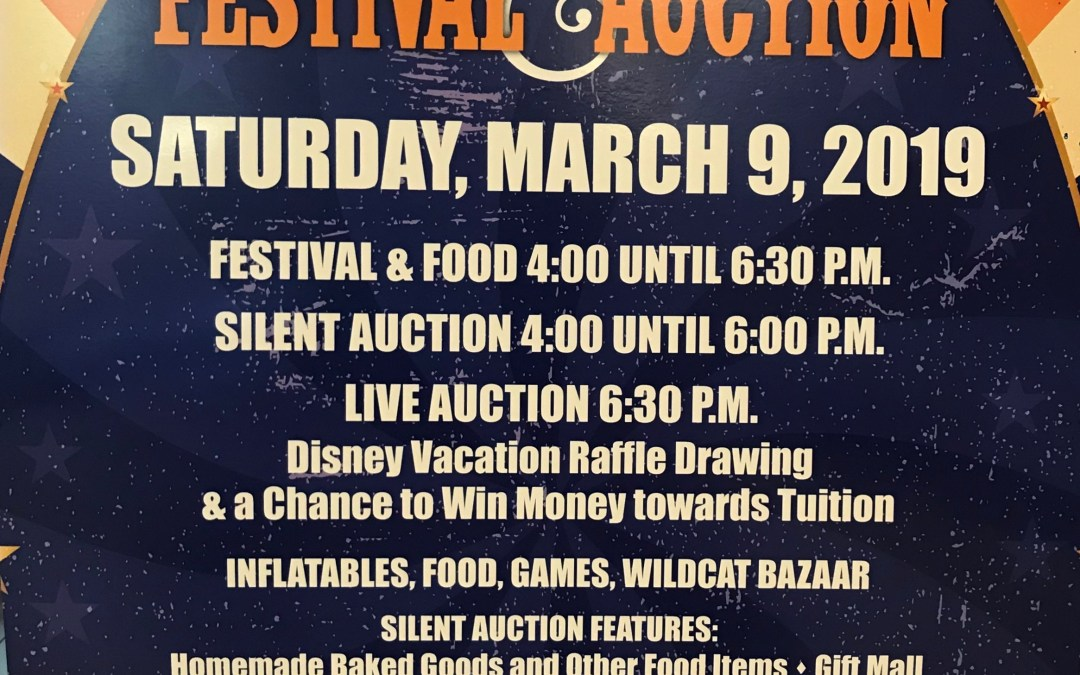 Westwood Auction and Spring Festival, Saturday, March 9th