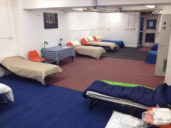 The winter shelter that's changing the lives of the ...