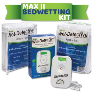Wet-Detective Max II bed pad alarm kit - 2 pads