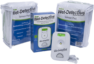 Wet-Detective adult incontinence solutions incontinence solution