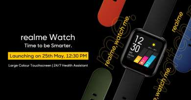 Realme-Watch-specs, design, features
