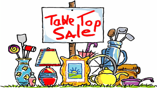 Action for Children Table Top Sale
