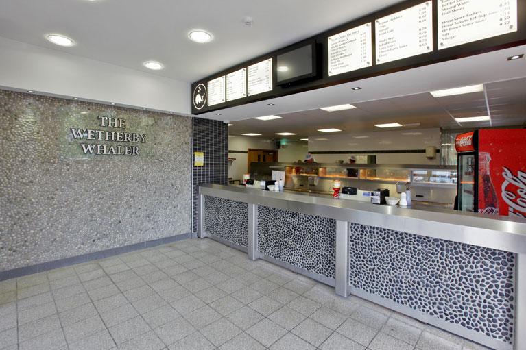 Fancy Restaurant Interior