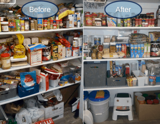 Don't have a ton of space for food storage? We'll show you how to carve out an area and the best food for your family to fill it with.