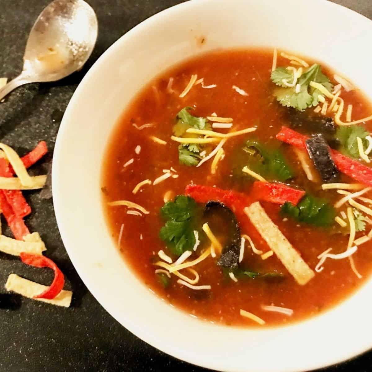Chipotle Tortilla Soup