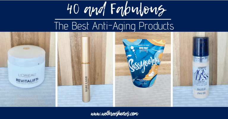 Fabulous at 40 | The Best Anti-Aging Products