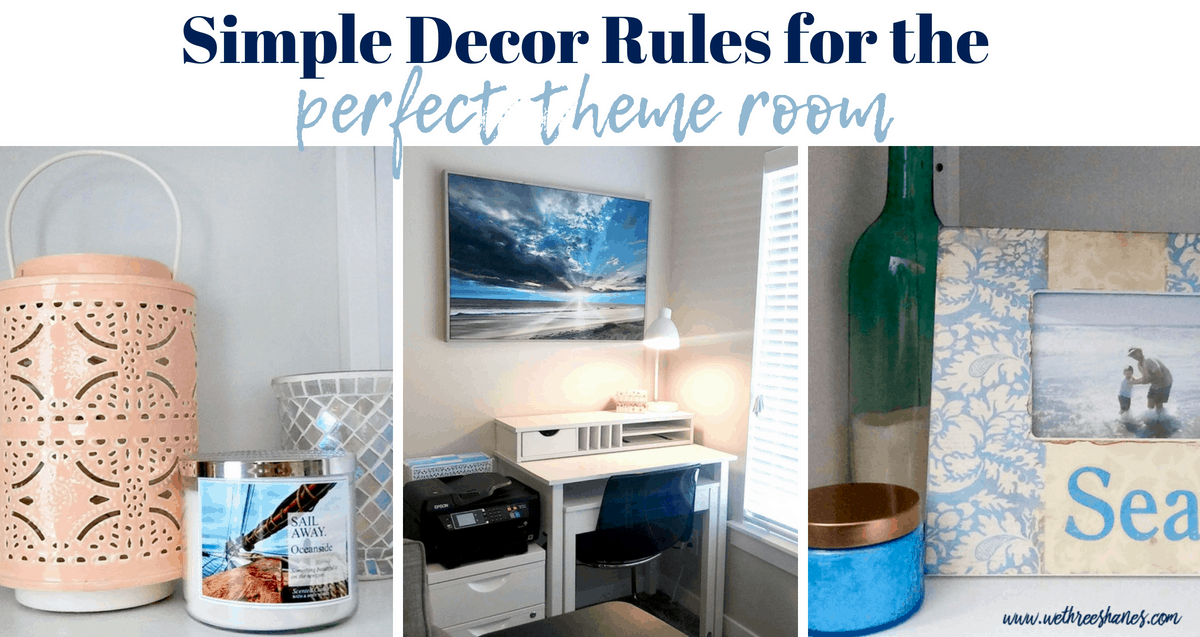 Rules for Decorating a Themed Room