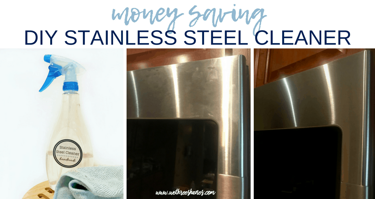 Money Saving DIY Stainless Steel Cleaner