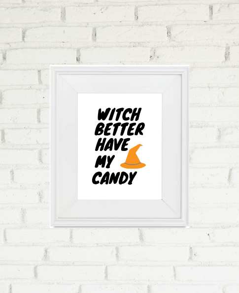 Art is an easy way to add some holiday decor to your home. Check out these lovely Free Fall and Halloween Printables and put some cheer on your walls. | We Three Shanes