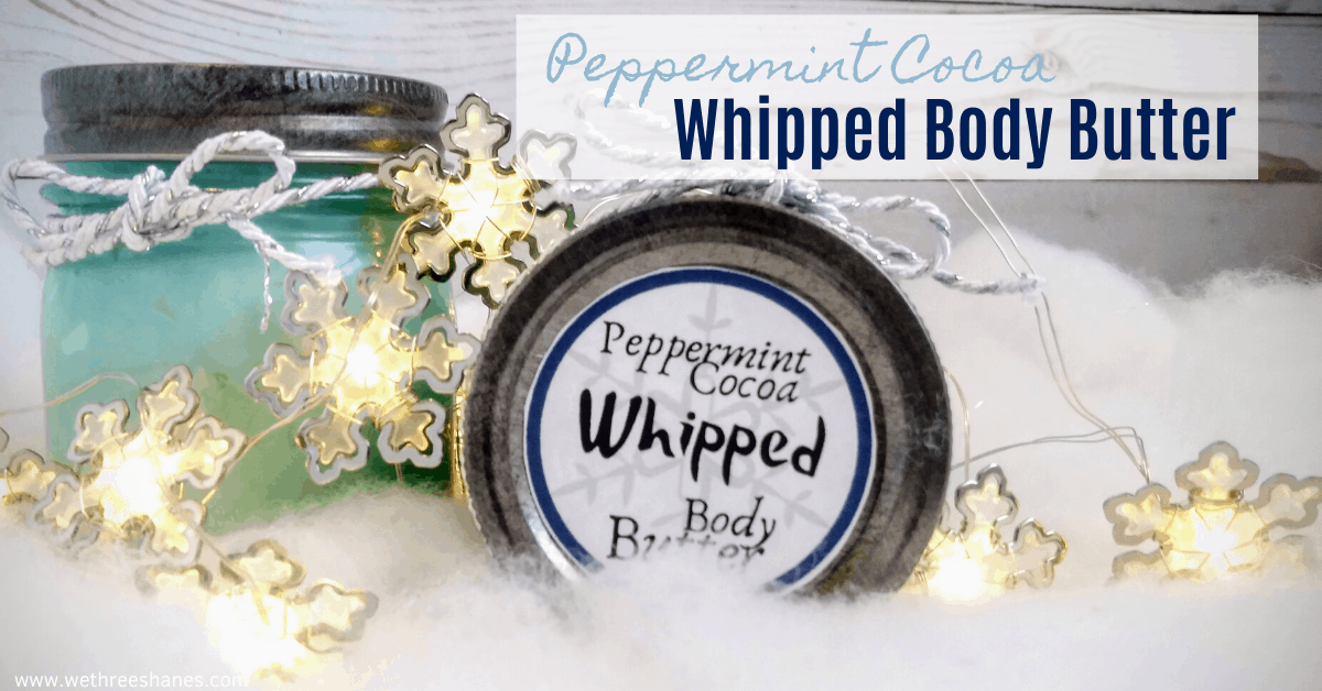 DIY Whipped Body Butter Winter Recipe