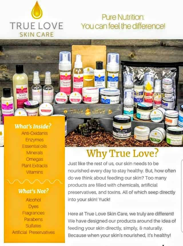 """Natural skin care that heals skin issues without toxic ingredients? Check out my True Love review & why I consider it my new """"Holy Grail"""" of skin care!   We Three Shanes"""