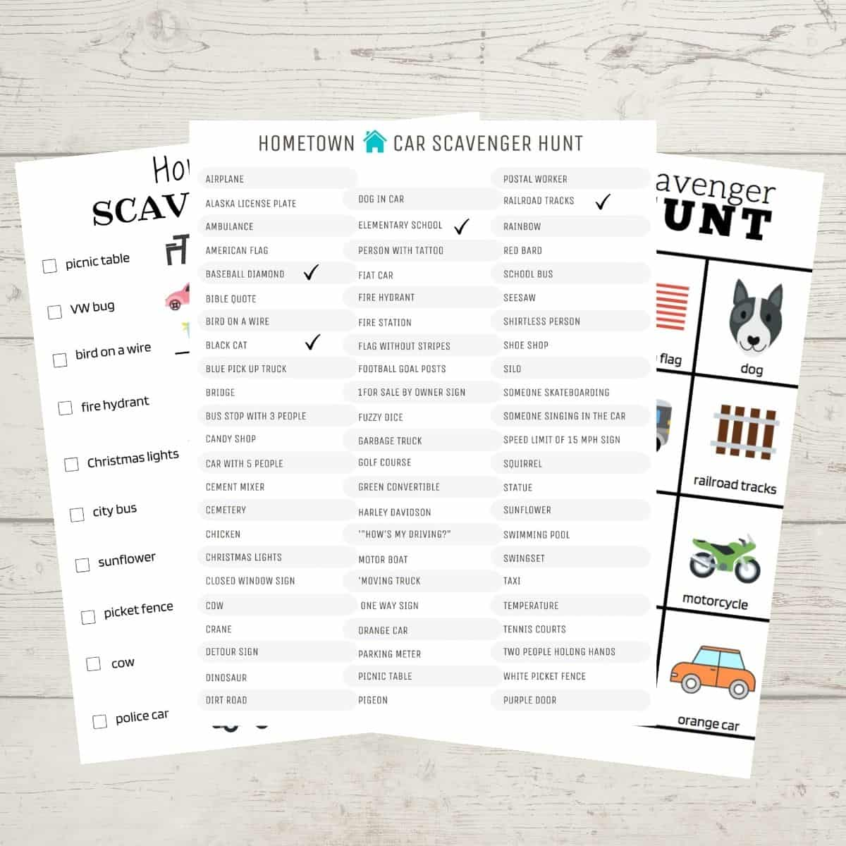Car Scavenger Hunt Printables (the Whole Family Will Love!)