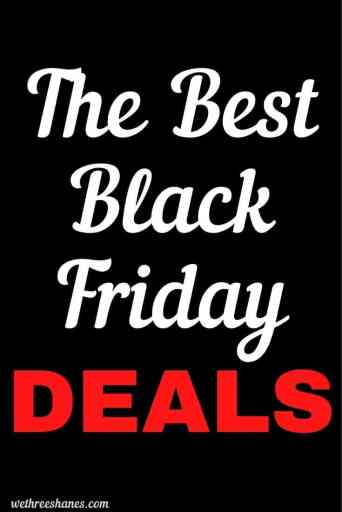 Our favorite Black Friday deals. Get an organized and clean home while saving money. | We Three Shanes