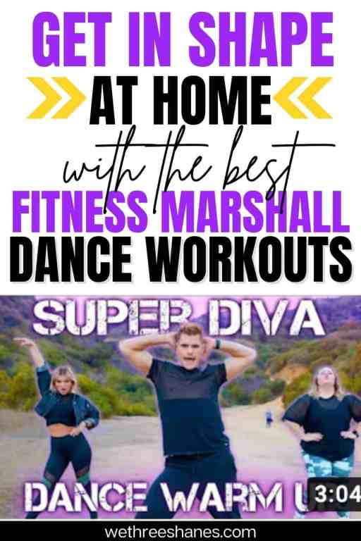 Get a great workout at home with free workout videos from The Fitness Marshall. Easy, sexy, and harder song list to find the best routines for you. | We Three Shanes