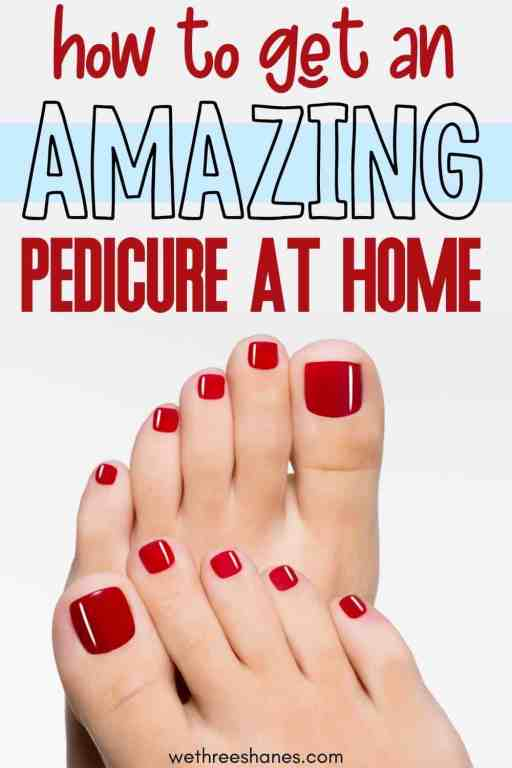 These pedicure tools make it easy to get a salon quality pedicure from the comfort of your own home. Save money without skimping on style! | We Three Shanes