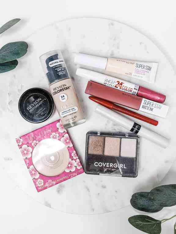 The BEST drugstore beauty products for your face that won't break the bank!