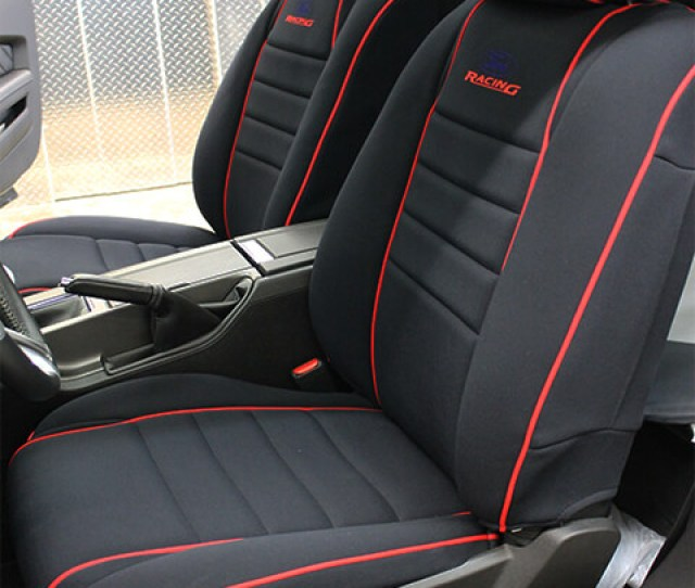 Ford Mustang Full Piping Seat Covers