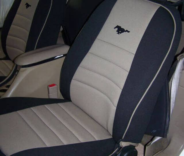 Ford Mustang Front Seat Covers