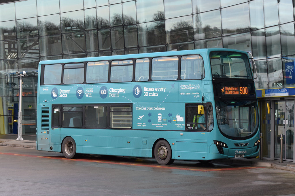 arriva liverpool 500 bus