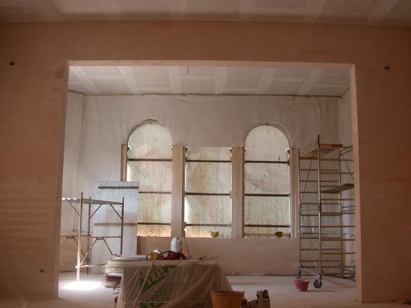 teatro Toniolo Mestre foyer restauro