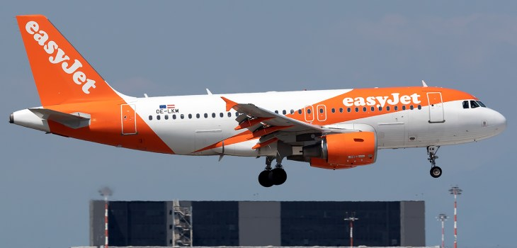 easyJet Airbus A319 OE-LKM