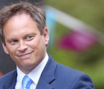 segretario ai trasporti del Regno Unito Grant Shapps