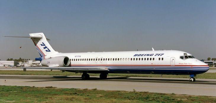 Boeing B717