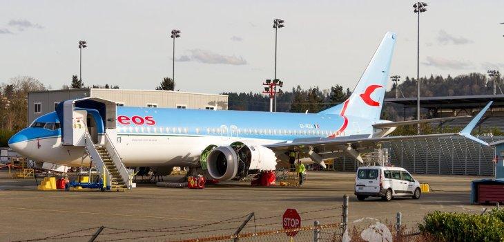 EI-RZA Neos Boeing B737 MAX 8