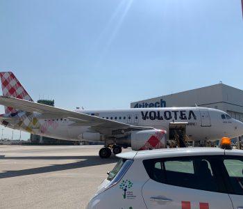 Airbus A319 Volotea a Napoli