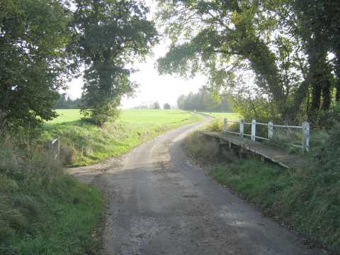The road to Finningham