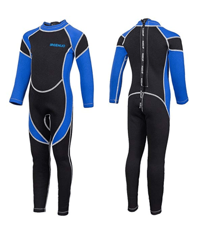 7fc975eb62 Kids Wetsuit Neoprene 2.5mm Thick Long Sleeve One Piece UV Protection Sun  Protection Sunsuit Wetsuit for Girls Boys
