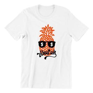 Pineapple Huat Kids Crew Neck Short Sleeve T-Shirt